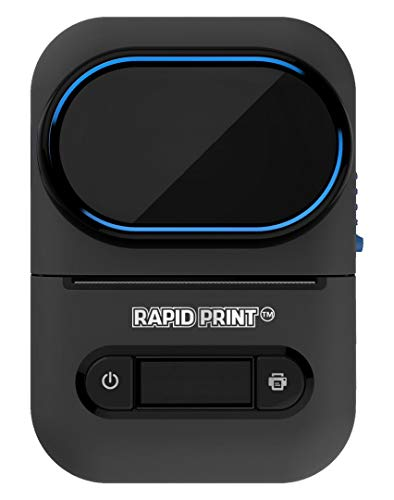 RAPIDPRINT Mini Label Printer Machine Thermal Portable Printing Small Label...