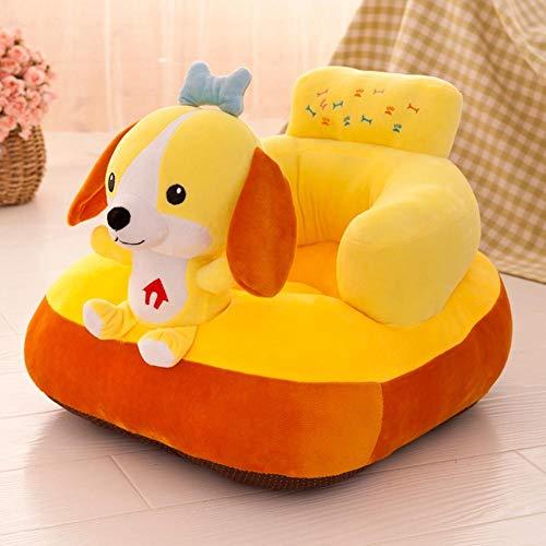 Piel de sofá de dibujos animados para bebé asiento sofá cubierta aprender a sentarse silla (D)