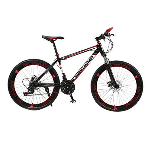 Mcadarres 26inch Folding Mountain Bike, 21 Inch Road Bikes with Disc Brakes, 21 Speed Bicycle Full Suspension MTB Bikes for Men Women