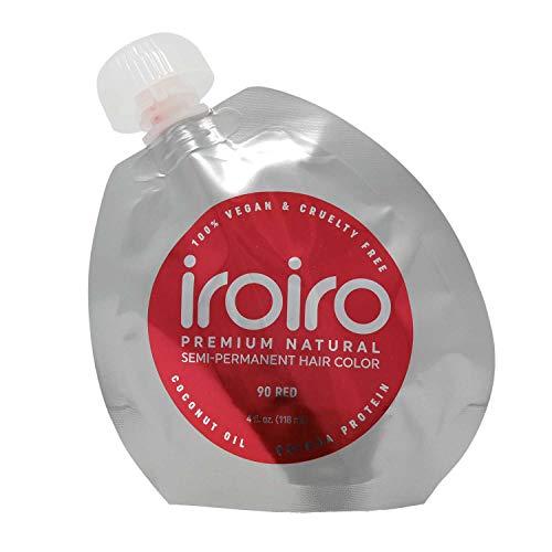 IROIRO Premium-Haartönung, semi-permanent, Farbe 90 Iro-Rot, 118ml