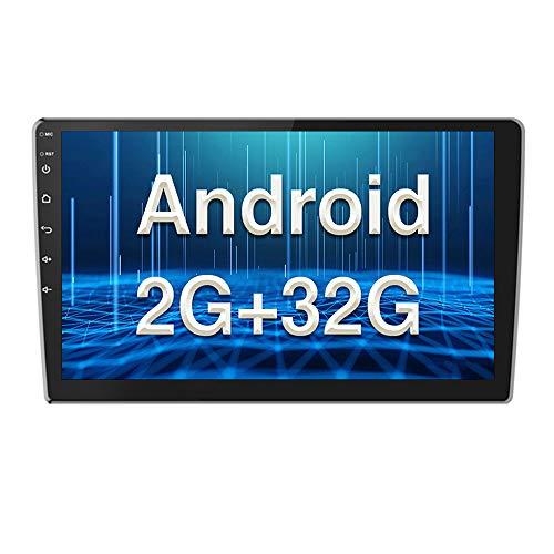 Autoradio Android 2G+32G Touchscreen da 10 pollici Lettore Stereo GPS CAMECHO WIFI Bluetooth 2 Din Sat Navi FM Collegamento Specchio del Telefono Cellulare video per auto Doppio USB
