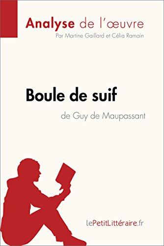 Boule de suif de Guy de Maupassant (Analyse de l'oeuvre): Comprendre la littérature avec lePetitLittéraire.fr (Fiche de lecture)