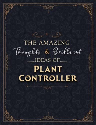 Plant Controller Sketch Book - The Amazing Thoughts And Brilliant Ideas Of Plant Controller Job Title Cover Notebook Journal: Notebook for Drawing, ... 8.5 x 11 inch, 21.59 x 27.94 cm, A4 size)