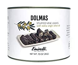 cheap Emile Ridolma filled with vine leaves and rice, Mediterranean herbs of extra virgin olive oil –…