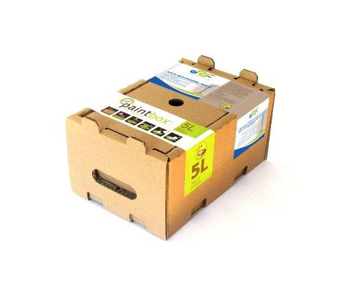 Paintbox 10225L - Scatola di vernice anti-muffa, 5 l, colore: Bianco
