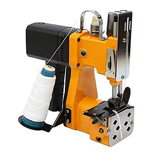 HUKOER Portable Sewing Machine Closer Stitcher Electric Packing Bag...