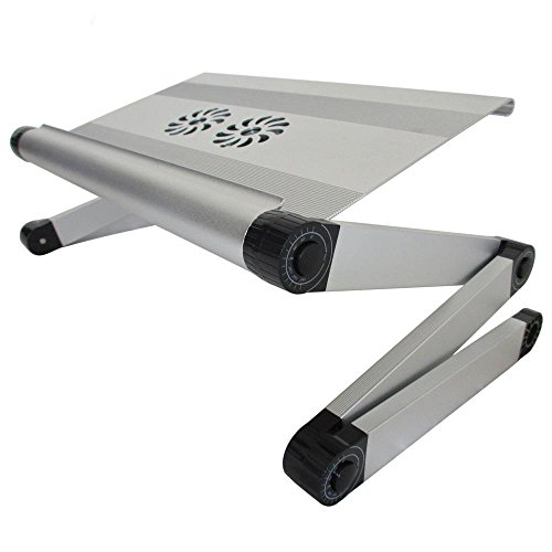 BBSLT tavola del PC portatile di alluminio elegante, scrivania pieghevole per radiatori, Tavolo di studio camera di Bradipo