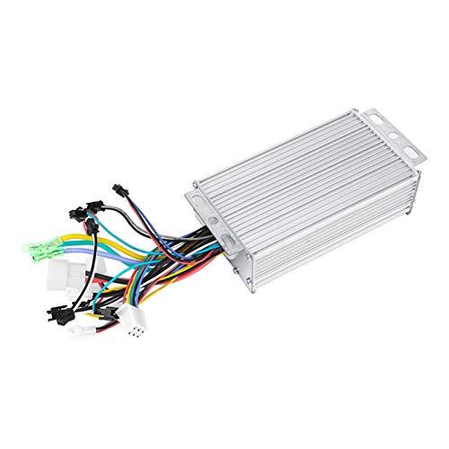 Controlador eléctrico sin escobillas, controlador de motor pantalla LCD para bicicleta eléctrica para scooter eléctrico (500W36V, azul)