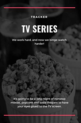 Tracker TV Series: TV & Netflix Show Tracker Record Log Book - Review Journal | Great Gift for Film Lovers