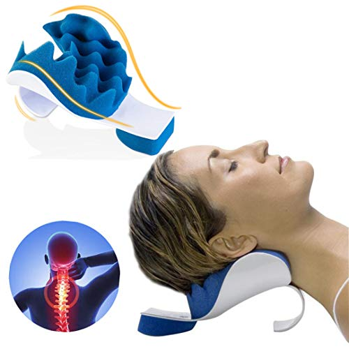 Chiropractic Pillow, Cervical Neck Pillow, Zabrina Neck Massage Cervical Pillow, Chiropractic Pillow for Neck Pain Relief, Neck Support Pillow for Neck and Shoulder Pain Relief Support