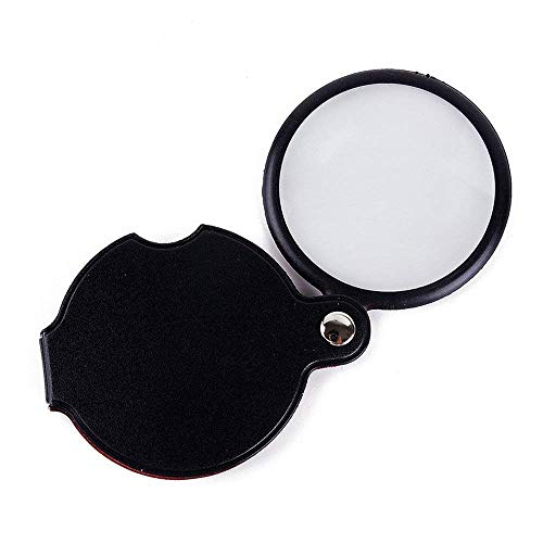 CKQ-KQ Portable Reading Magnifier for ouderen Krant Lens Diameter: 60 mm