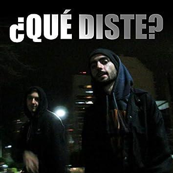 ¿Qué Diste? (feat. Eska)