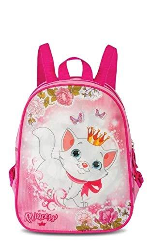 Fabrizio Mochila de gatito y princesa, 7 litros, color rosa