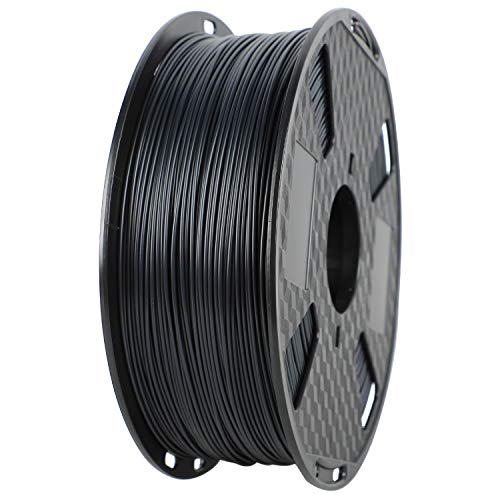 ORIENTOOLS ASA 3D Printer Filament 1.75mm, Dimensional Accuracy +/- 0.05 mm, 1kg Spool (2.2lbs), Fit Most FDM Printer, Black