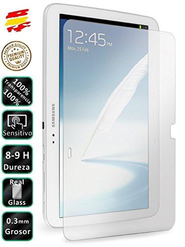 Movilrey Protector para Samsung Galaxy Tab 3 10.1 P5200 Cristal Templado de Pantalla Vidrio 9H para Tablet