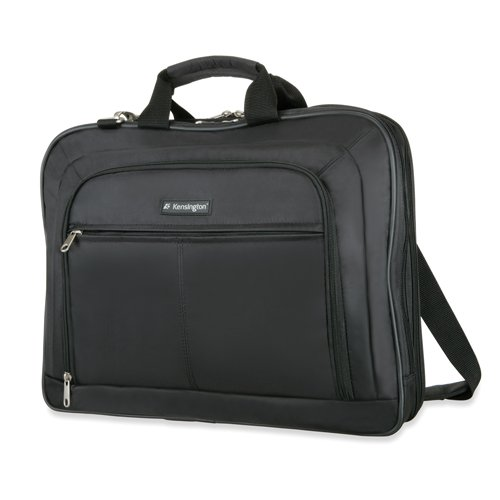 Kensington K62568Us Borsa per Laptop Simply Portable, Custodia Classica per Dispositivi da 17', per Macbook Pro, Macbook Air, Laptop E Tablet Hp, Borsa Unisex con Maniglia E Tracolla