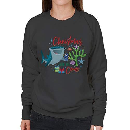 Disney Kerstmis vinden Dory Xmas Hier komen we vrouwen Sweatshirt