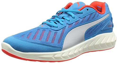 Puma Herren IGNITE Ultimate Laufschuhe, Blau (atomic blue-red blast 01), 44 EU
