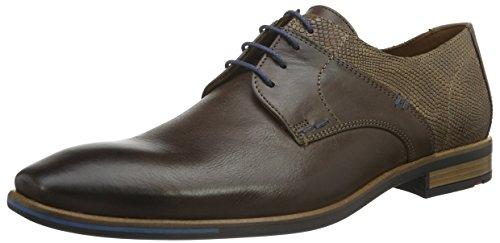LLOYD Damien, Zapatos de Cordones Derby Hombre, Braun T D Moro Fango...