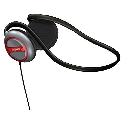 MAXELL 190316 Behind-the-Neck Stereo Headphones with Swivel Ear Cups; Consumer electronic