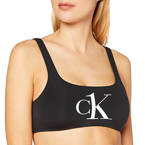 Calvin Klein Unisex Bralette Bikini, Pvh Schwarz, M