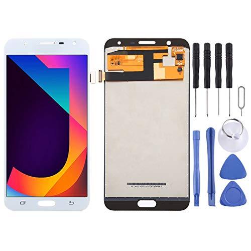 Zhangli Pantalla LCD del teléfono móvil TFT Material de la Pantalla LCD y digitalizador Asamblea Completa para Galaxy Neo J7 / J701, J7 Nxt, J7 Core, J701F / DS, J701M Pantalla LCD (Color : Blanco)