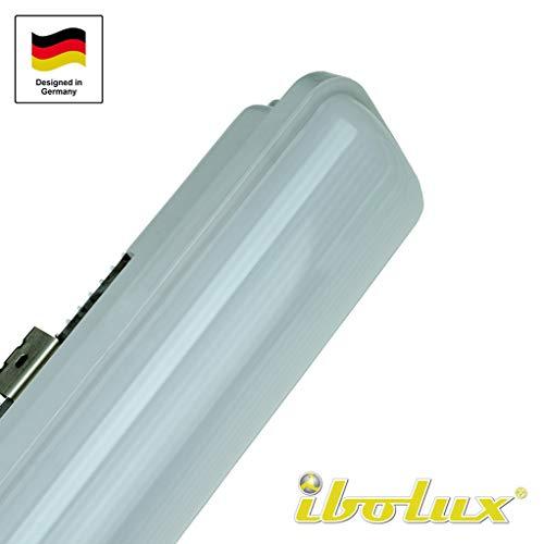 Feuchtraumleuchte Wannenleuchte LED Deckenleuchte 25W 60cm IP66 Garagenlampe Werkstatt-Beleuchtung Lager-Hallenbeleuchtung Parkhausbeleuchtung