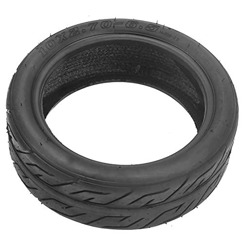 HTZ-M Neumático de vacío de Goma 10x2,7-6,5 Neumático de Scooter eléctrico Neumático de Cubierta de neumático de Scooter de 10 Pulgadas para Scooter de Equilibrio