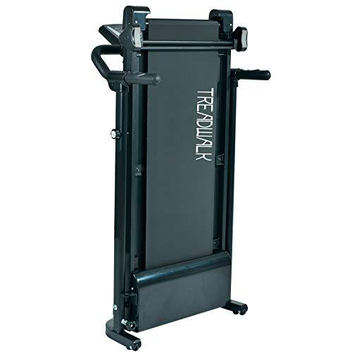41K8JHY3a7L - Nyana Fit   Cinta de Andar Plegable Treadwalk Nfit-450   Sistema eléctrico   1-12 km/h   12 Programas de entreno   Motor 1000W   Display LCD   Superficie Antideslizante   Ruedas para Transporte