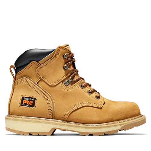 Timberland PRO Men's Pitboss 6″ Soft-Toe Boot,Wheat,9.5 M