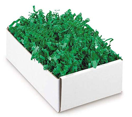 Papier-Füllmaterial Kräuselpapier für Geschenke - 500 gr (grün)