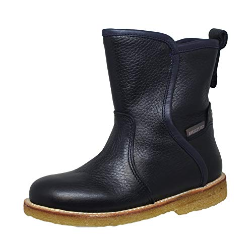 Angulus 2001-201 Unisex - Kinder Winter Tex Stiefel Boots, Blau (Navy), EU 34