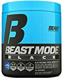 Beast Sports Nutrition – Beast Mode Black – Ultimate Workout Supplement – High Energy Production – Maximizes Strength & Muscle Gain –  Supports Healthy Testosterone Levels – Blue Raspberry 30 Servings