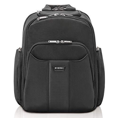 Everki Versa 2 – Premium laptop rugzak voor notebooks tot 14,1 inch (35,8 cm) / MacBook Pro 15 inch met gepatenteerde hoeken beschermingssysteem, brillenvak en andere hoogwaardige functies