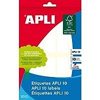 【APLI】手書き角丸ラベル 10片(AP-01643)