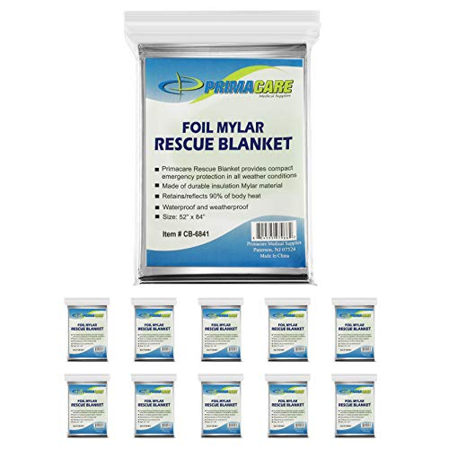 Our #6 Pick is the Primacare HB-10 Emergency Blanket