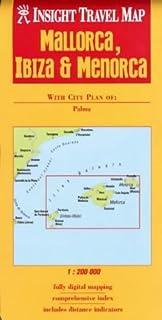 Mallorca Ibiza Menorca Insight Travel Map
