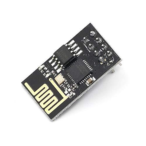 IGOSAIT ESP8266 ESP-01/01S 5V módulo de relé WiFi cosas Smart Home Control remoto interruptor teléfono APP ESP01 ESP-01 módulo inalámbrico WIFI (tamaño: ESP 01)