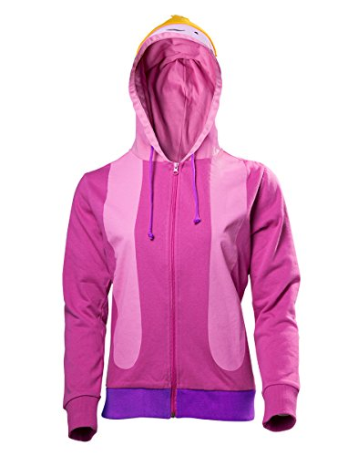Adventure Time Damen Kapuzen Jacke Princess Bubblegum zur Serie pink - M