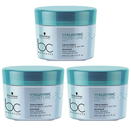 Schwarzkopf Moisture Kick Bonacure Treatment Kur Mask 3 x 200ml Ovp Kein Import