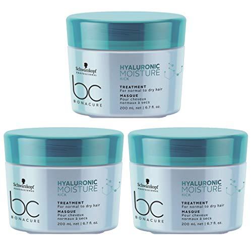 Schwarzkopf Moisture Kick Bonacure Treatment Lot de 3 masques de traitement 200 ml