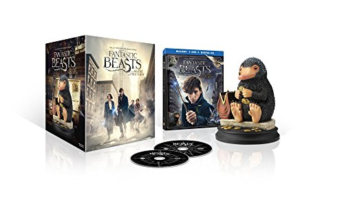 Fantastic Beasts and Where to Find Them (Amazon Exclusive) (Niffler Figurine/Blu-ray + DVD + Digital HD UltraViolet Combo Pack)