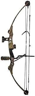 Siege SAS 55 lb 29'' Compound Bow w/ 5-Spot Paper Target