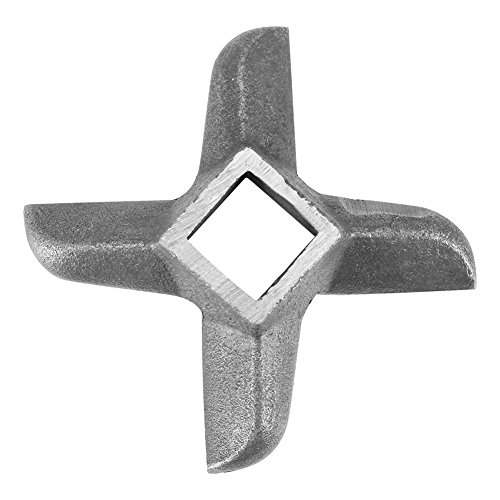 Picadora de carne en forma de cruz Picadora de cuchillas Picadora Parte profesional de acero inoxidable Cocina casera(5 号)
