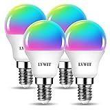 """☀ Controllo a Distanza, Installazione Facile: Scaraicare """"Tuya Smart"""" dal mercato APP, collegare APP con Wifi(attualmente è solo compatibile con il WiFi 2,4 g), aggiugere LVWIT lampadina smart su """"Tuya Smart"""", poi si controlla a distanza la lampadina..."""