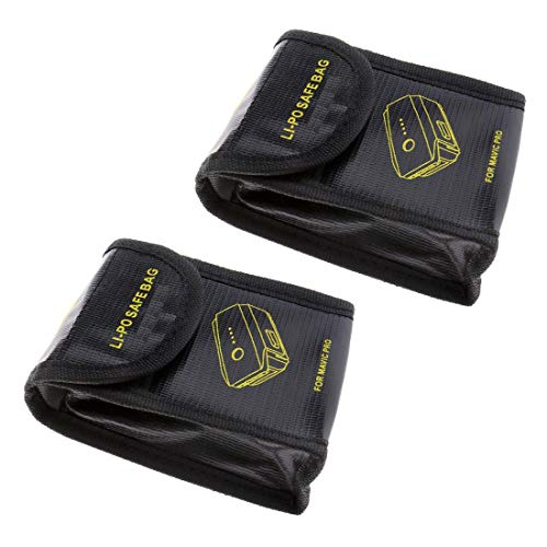 2x Lipo Batterie Akku Tasche Beutel Safe Bag Sicherheit Pouch Für DJI Mavic Pro
