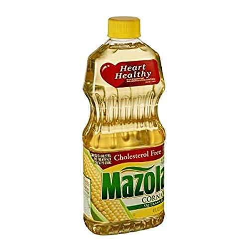 MAZOLA 100% Pure Corn Oil, 40 oz