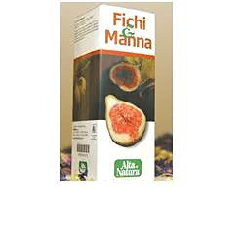 Alta Natura Fichi E Manna Soluzione Liquida Integratore Alimentare 150 ml