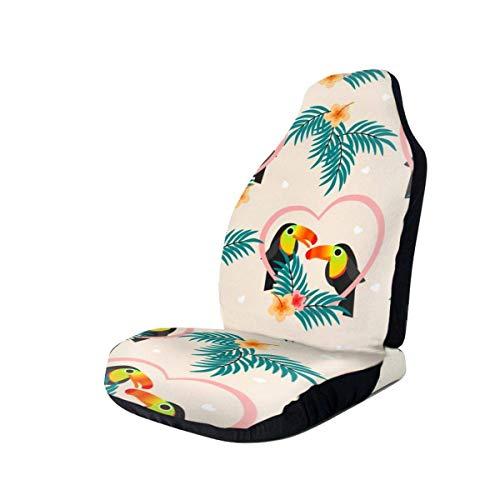 Little Yi Niedliches Paar Tukan Autositzbezüge Fahrzeug Sitzschutz Universal Autositz Zubehör