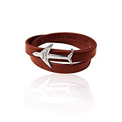 leather airplane bracelet travel inspired jewelry